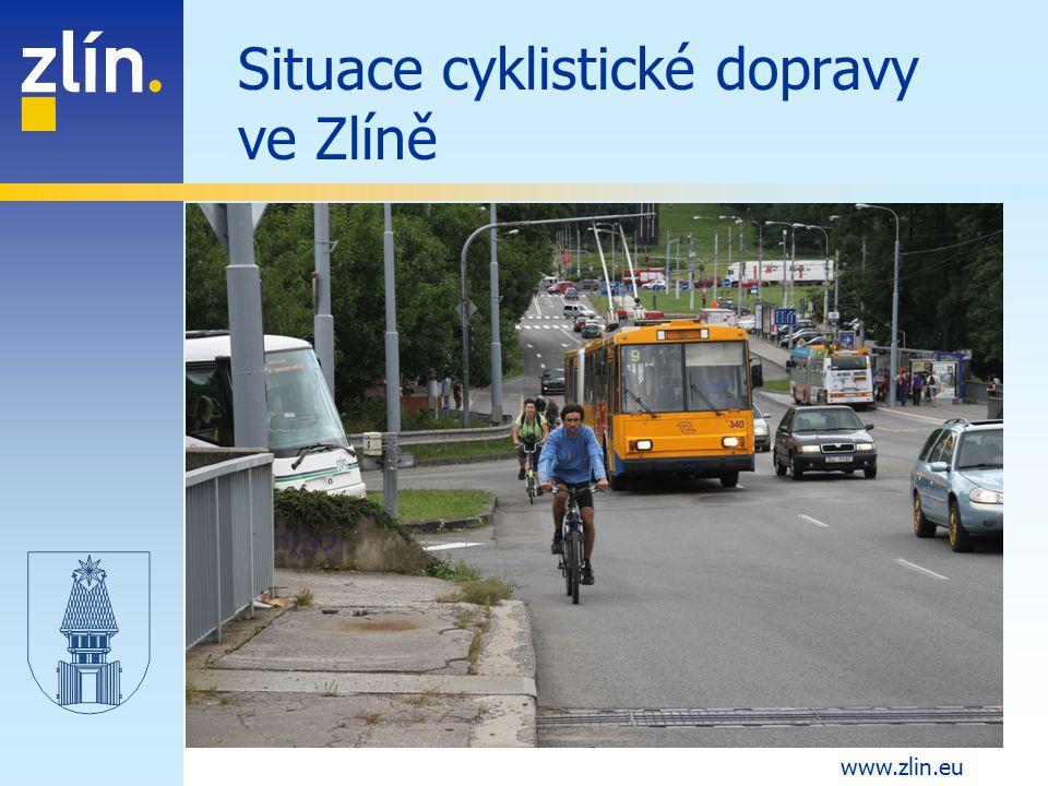Situace cyklistické dopravy ve Zlíně