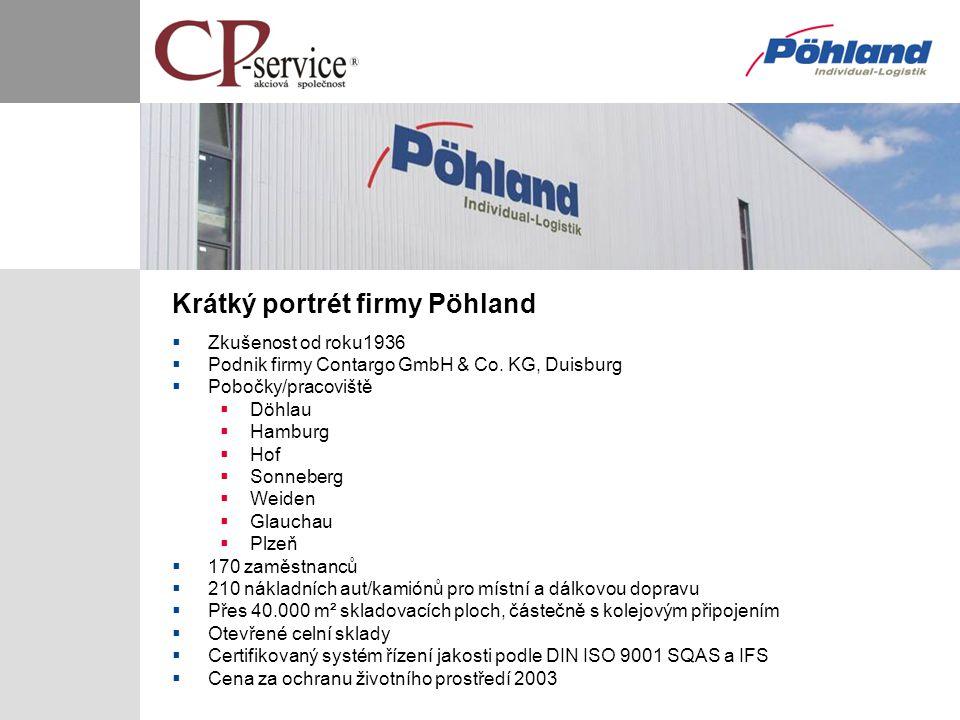 Krátký portrét firmy Pöhland