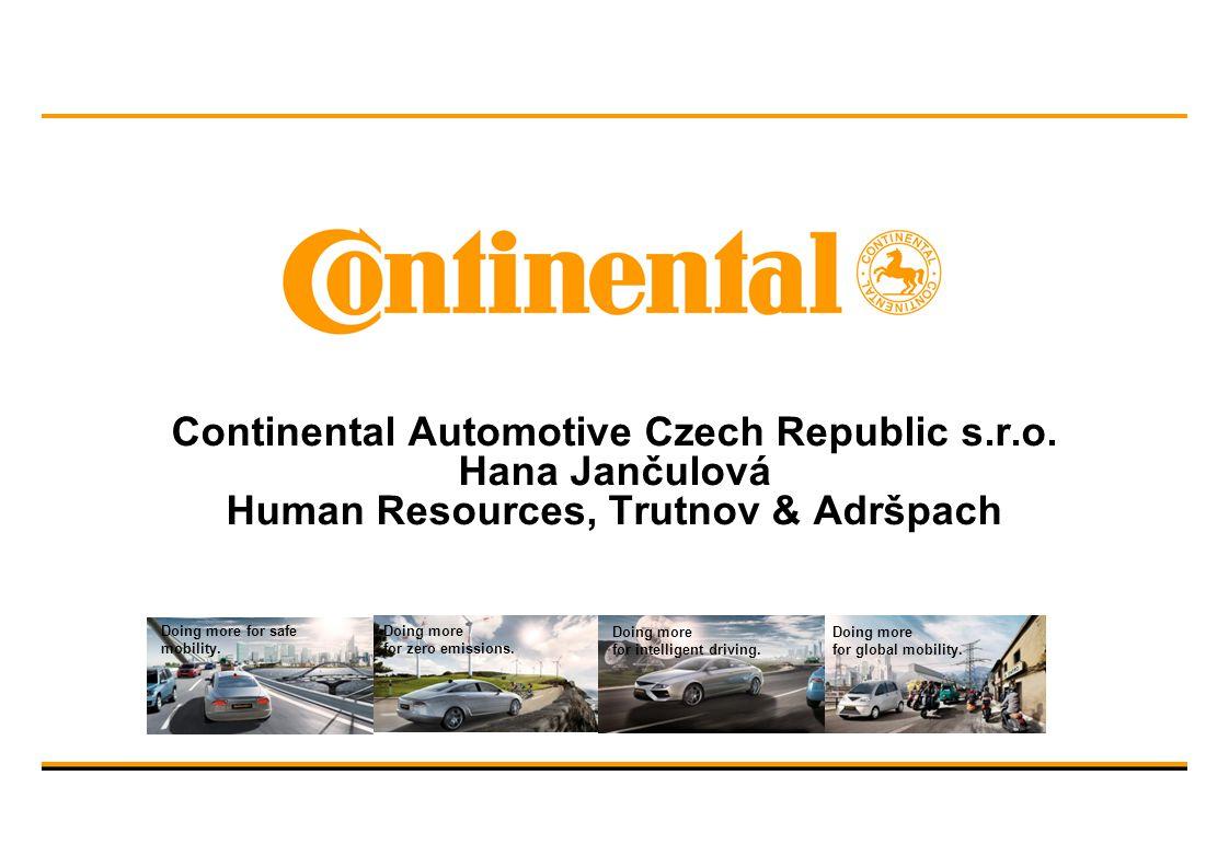 Continental Automotive Czech Republic s. r. o