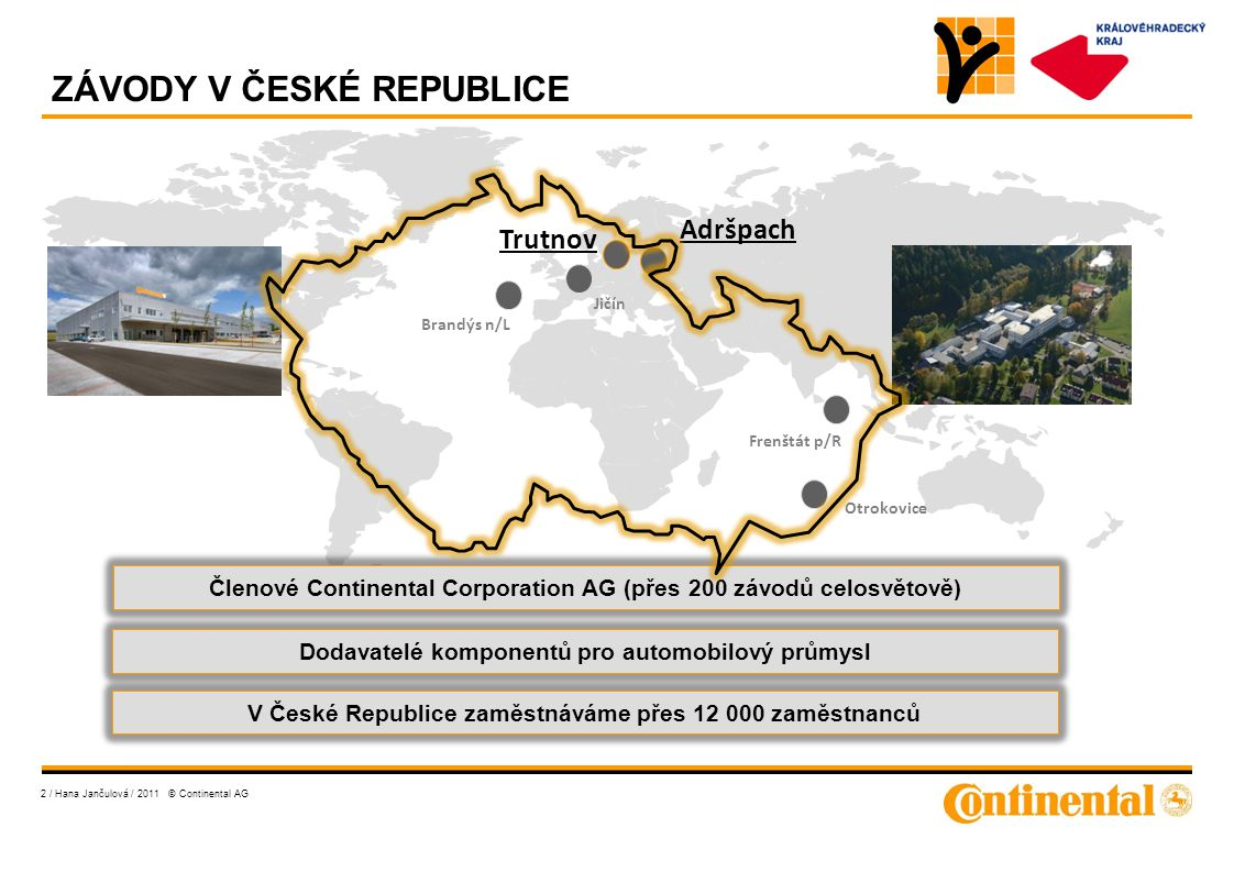ZÁVODY V ČESKÉ REPUBLICE