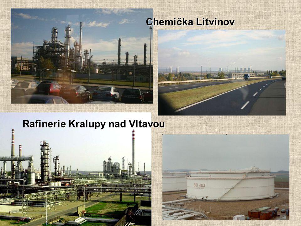 Chemička Litvínov Rafinerie Kralupy nad Vltavou