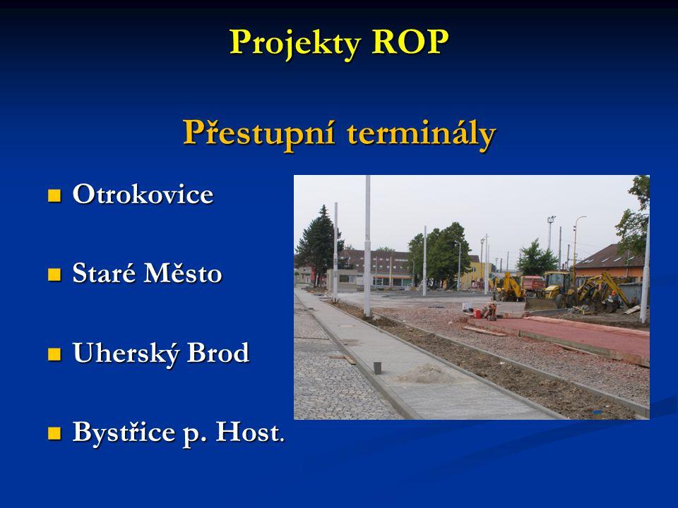 Projekty ROP Přestupní terminály