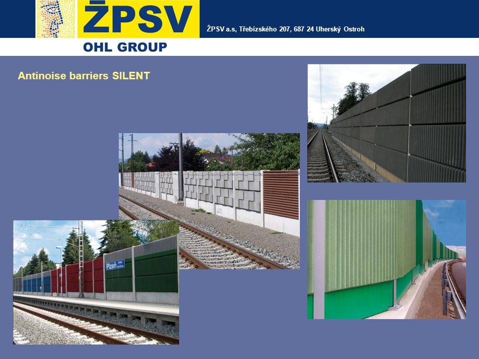 Antinoise barriers SILENT
