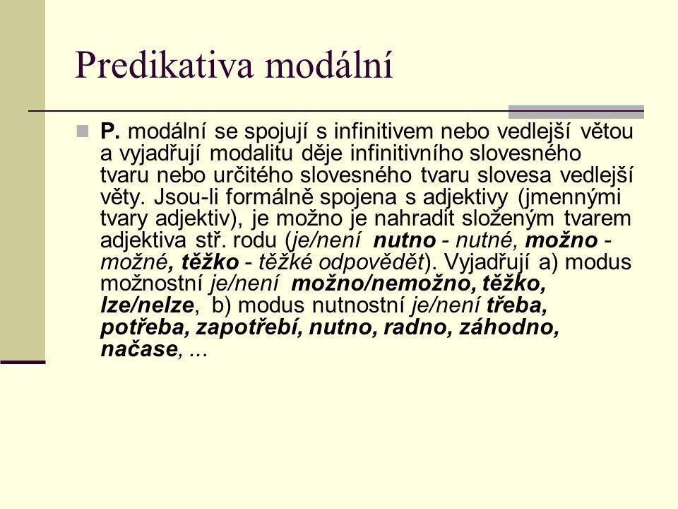 Predikativa modální