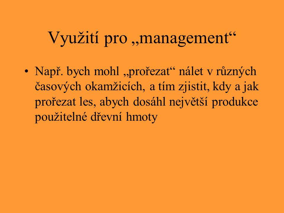 """Využití pro """"management"""