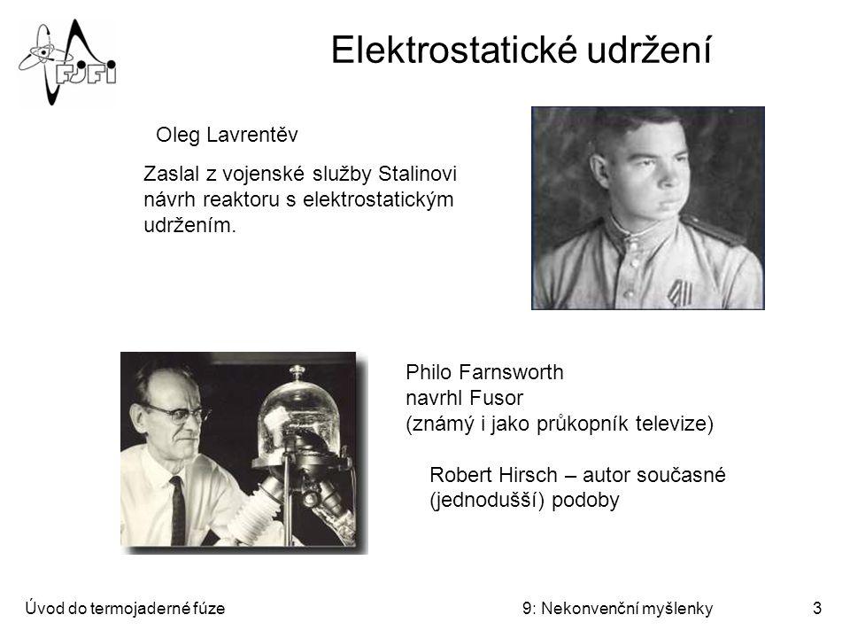 Elektrostatické udržení