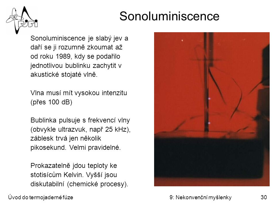 Sonoluminiscence
