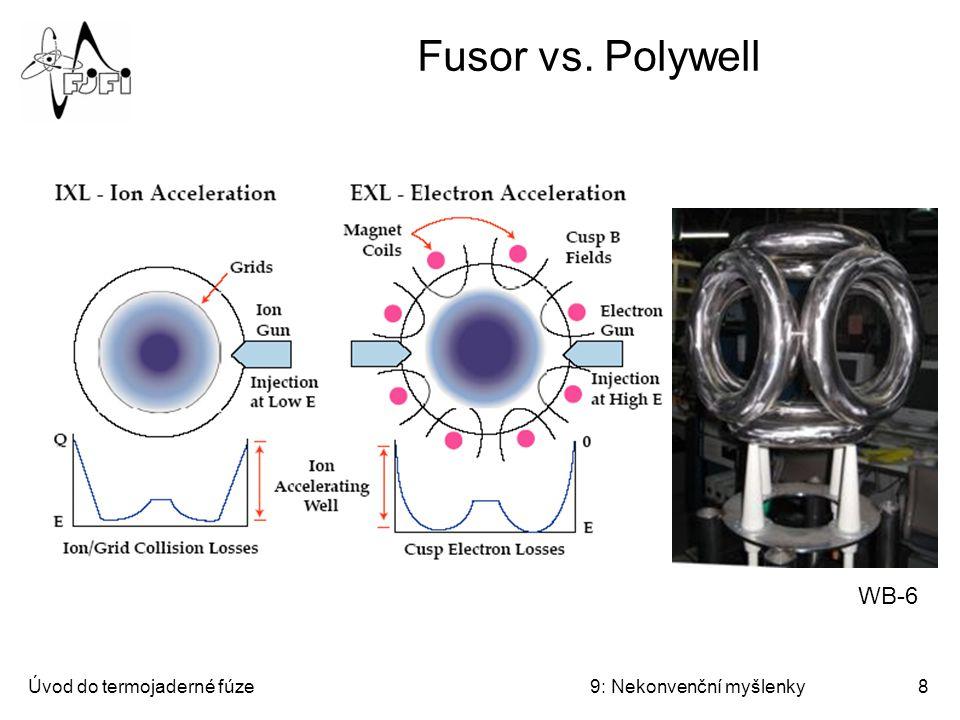 Fusor vs. Polywell WB-6 Úvod do termojaderné fúze