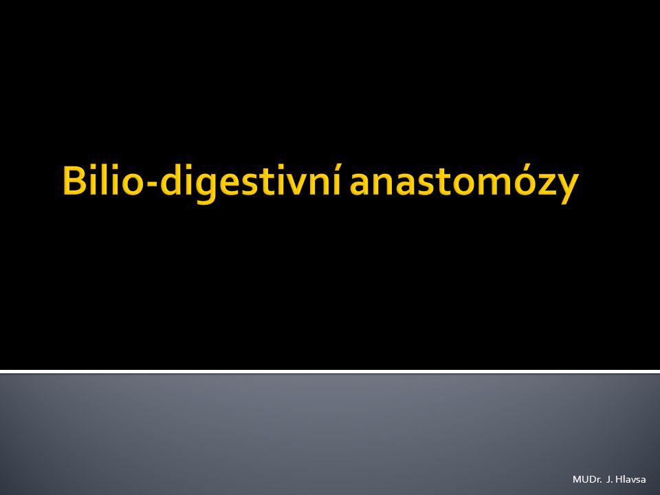 Bilio-digestivní anastomózy