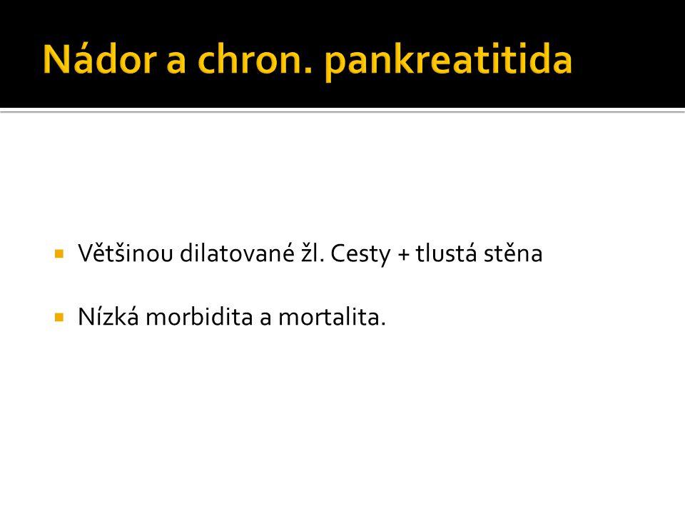 Nádor a chron. pankreatitida
