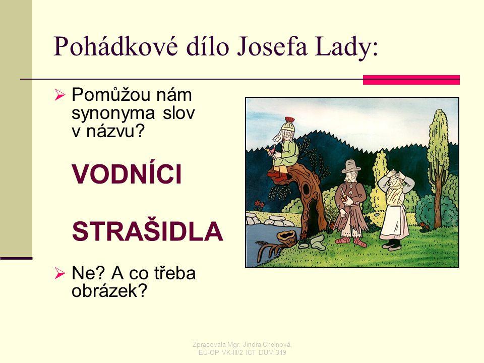 Pohádkové dílo Josefa Lady: