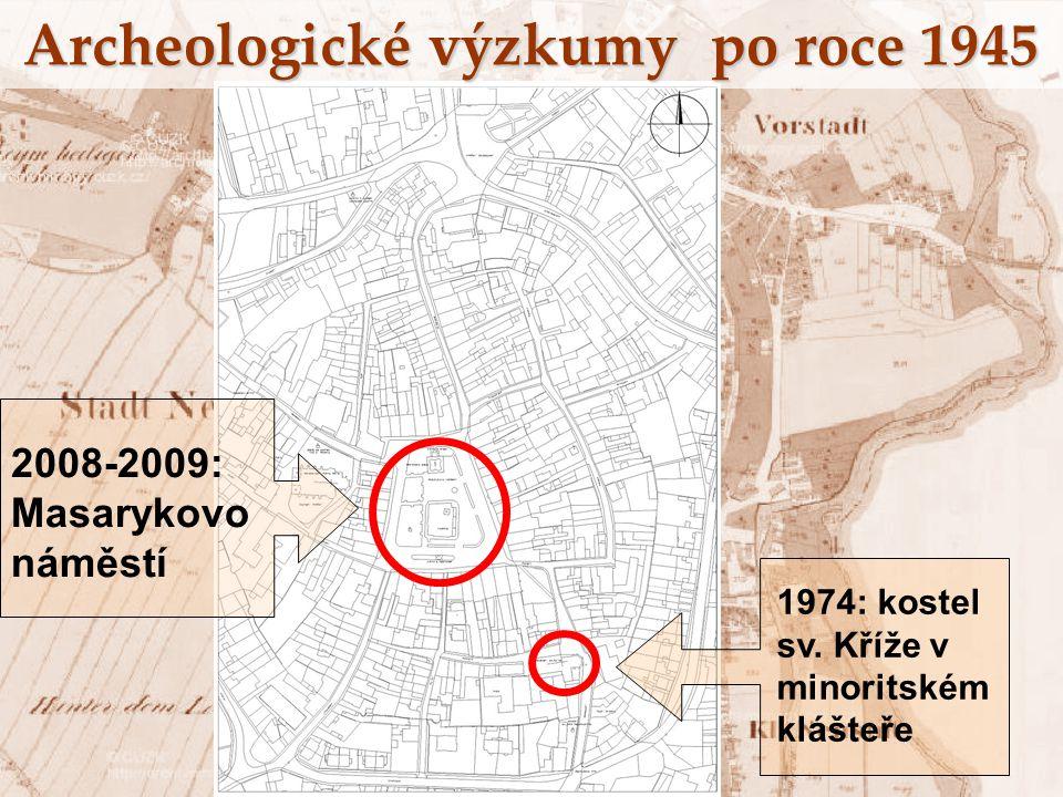 Archeologické výzkumy po roce 1945
