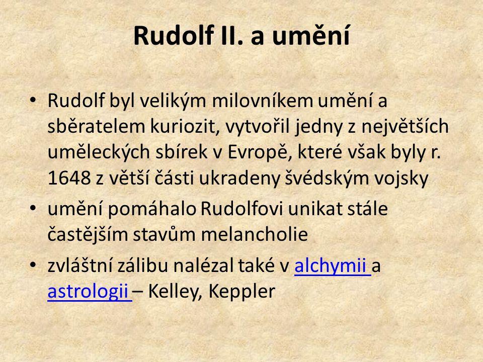 Rudolf II. a umění