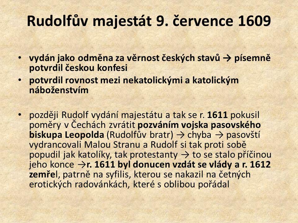 Rudolfův majestát 9. července 1609