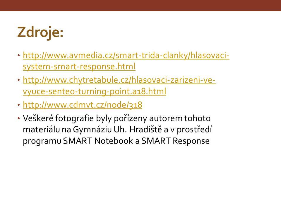 Zdroje: http://www.avmedia.cz/smart-trida-clanky/hlasovaci-system-smart-response.html.