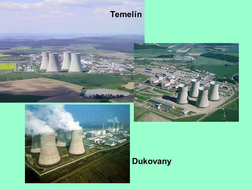 Temelín Dukovany