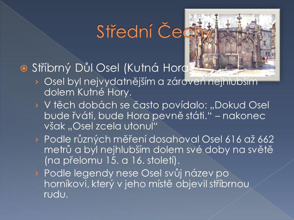 Střední Čechy Stříbrný Důl Osel (Kutná Hora)