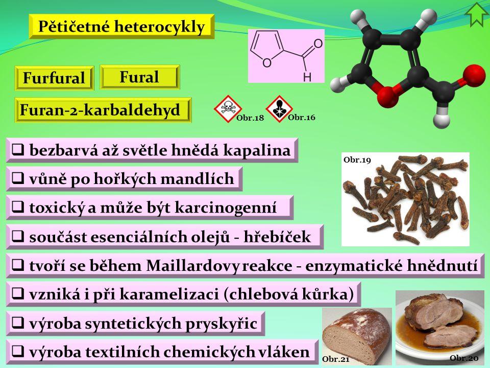 Pětičetné heterocykly