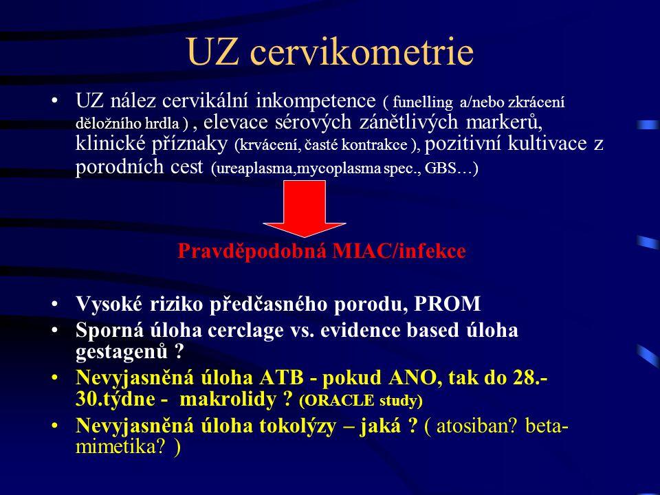 UZ cervikometrie