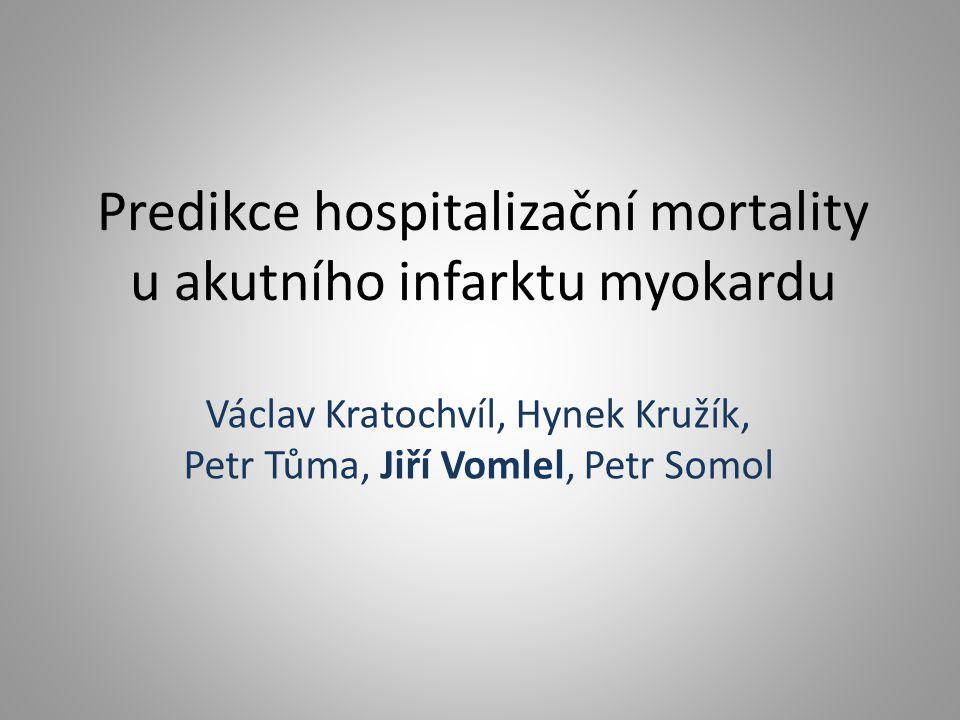 Predikce hospitalizační mortality u akutního infarktu myokardu