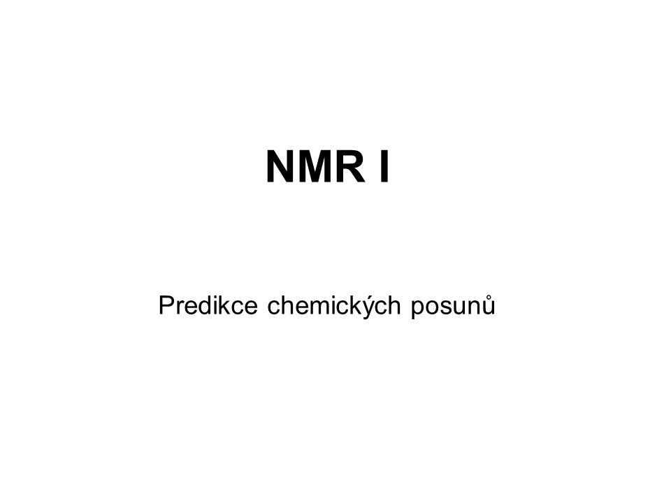 Predikce chemických posunů
