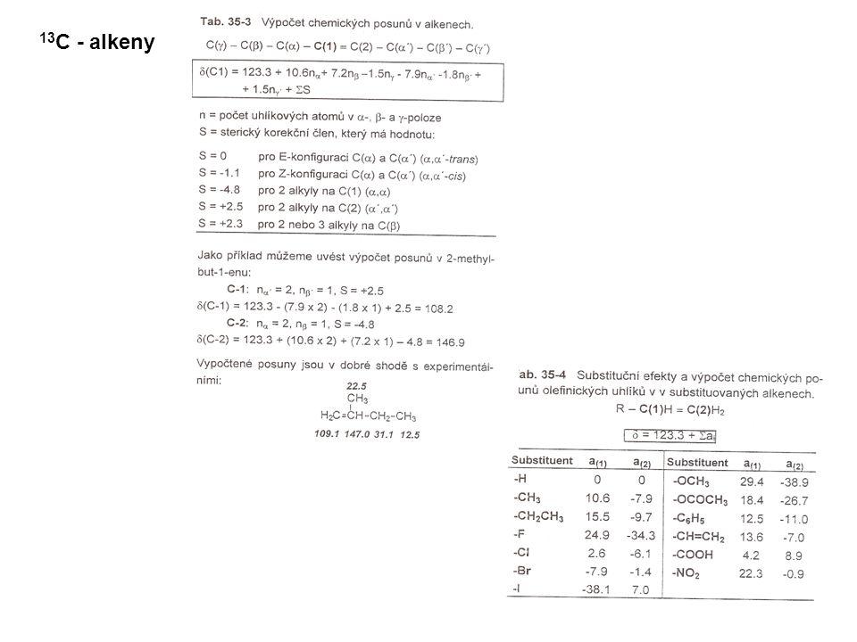 13C - alkeny