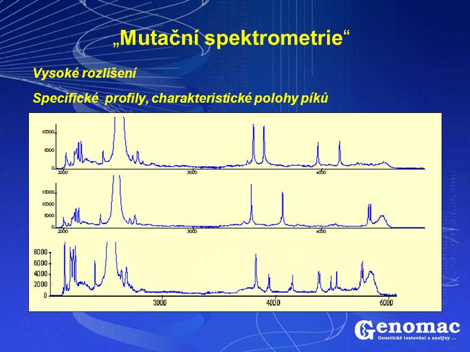 """""""Mutační spektrometrie"""
