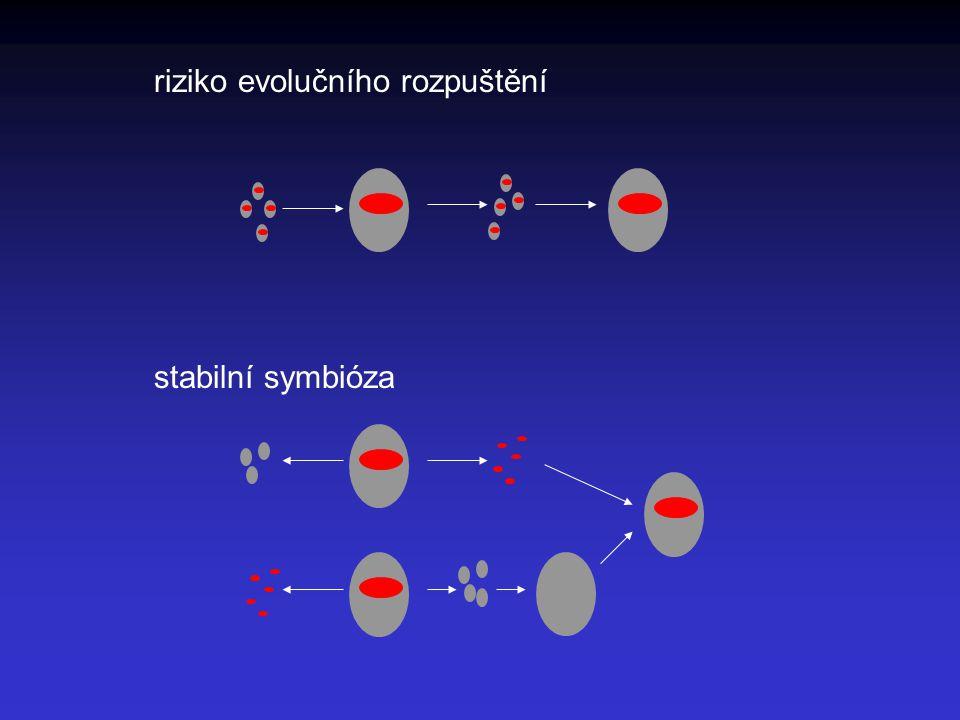 riziko evolučního rozpuštění