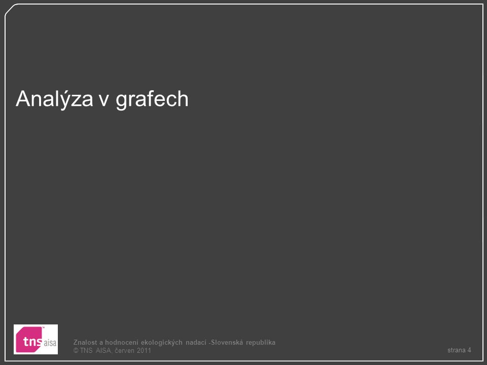 Analýza v grafech