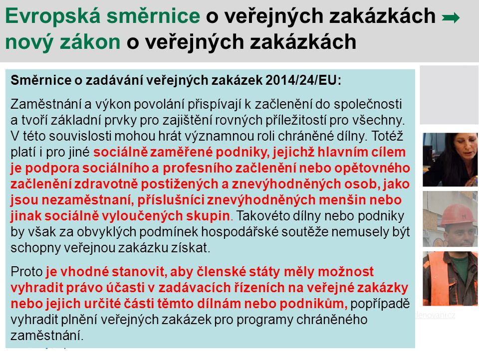 Evropská směrnice o veřejných zakázkách