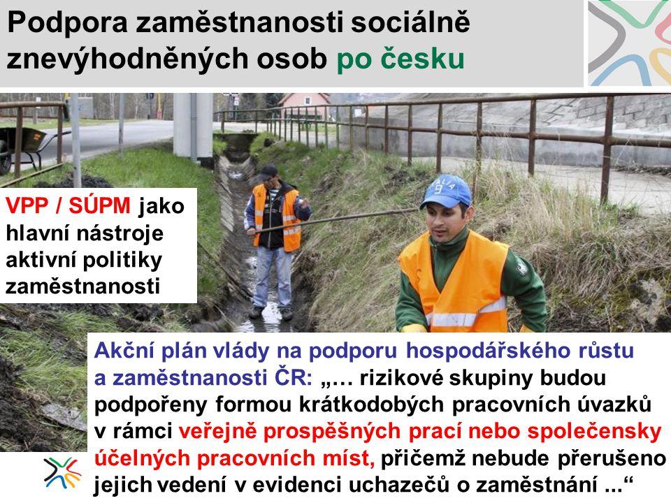 Podpora zaměstnanosti sociálně znevýhodněných osob po česku
