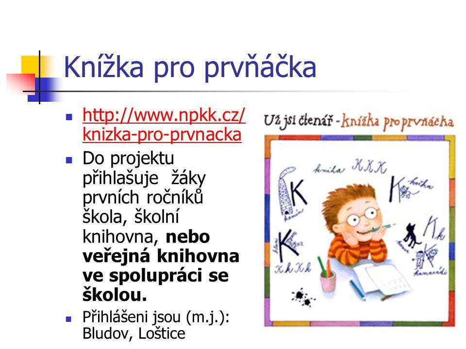 Knížka pro prvňáčka http://www.npkk.cz/knizka-pro-prvnacka