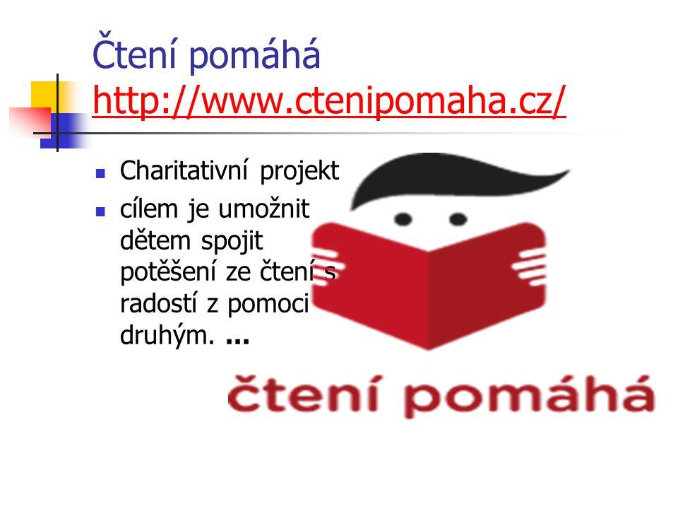 Čtení pomáhá http://www.ctenipomaha.cz/
