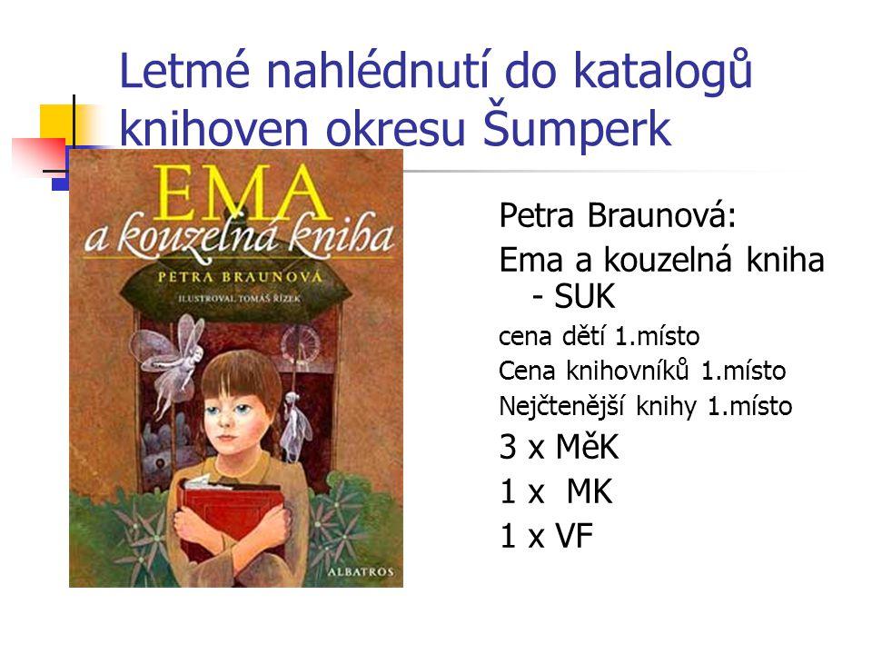 Letmé nahlédnutí do katalogů knihoven okresu Šumperk