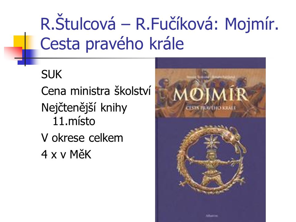 R.Štulcová – R.Fučíková: Mojmír. Cesta pravého krále
