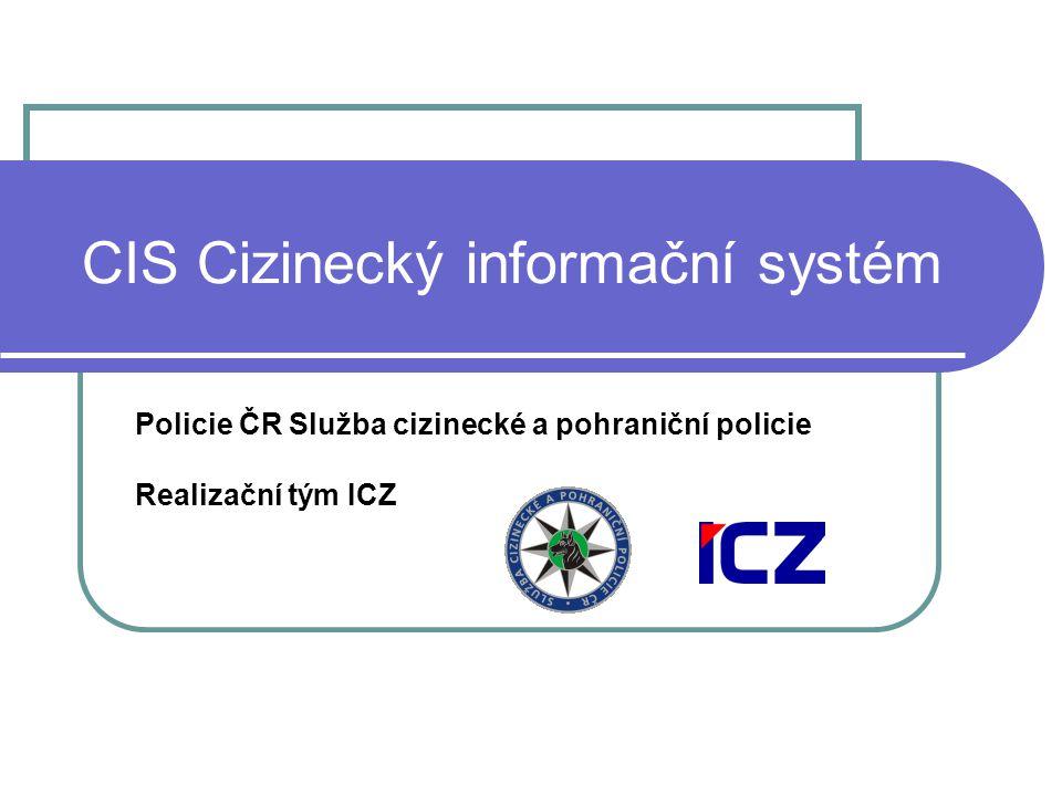 CIS Cizinecký informační systém