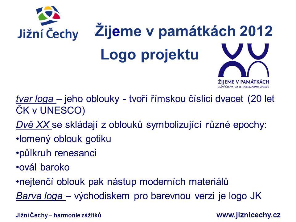 Žijeme v památkách 2012 Logo projektu