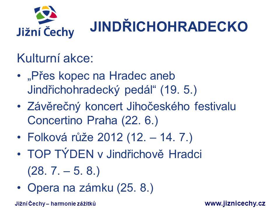 JINDŘICHOHRADECKO Kulturní akce: