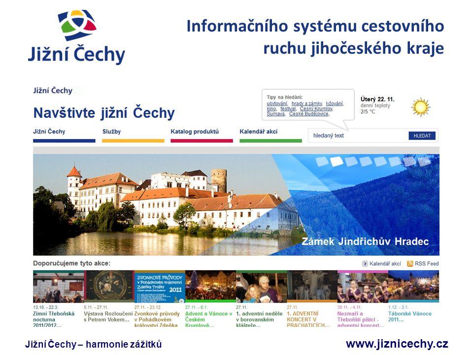 Informačního systému cestovního ruchu jihočeského kraje