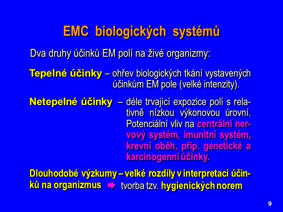 EMC biologických systémů