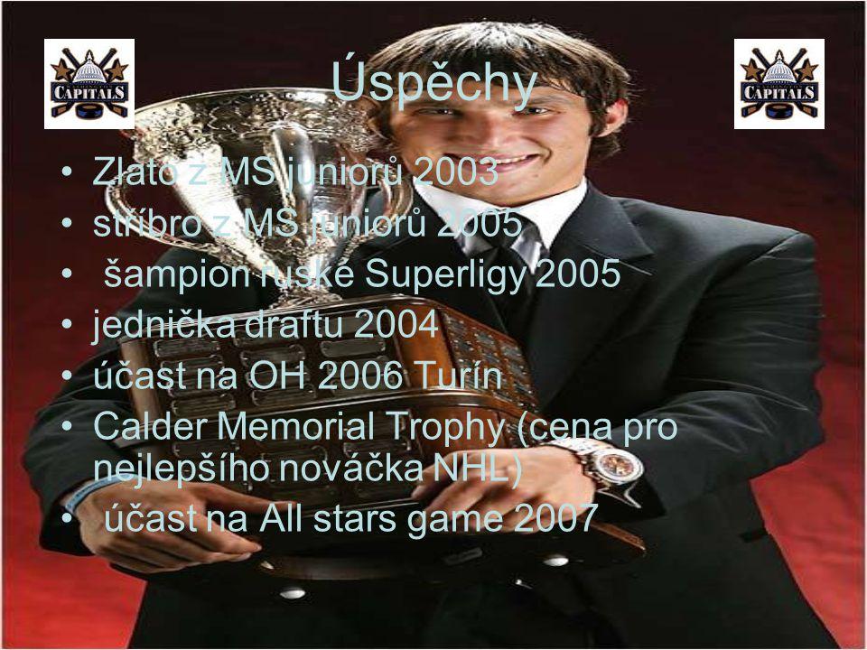 Úspěchy Zlato z MS juniorů 2003 stříbro z MS juniorů 2005