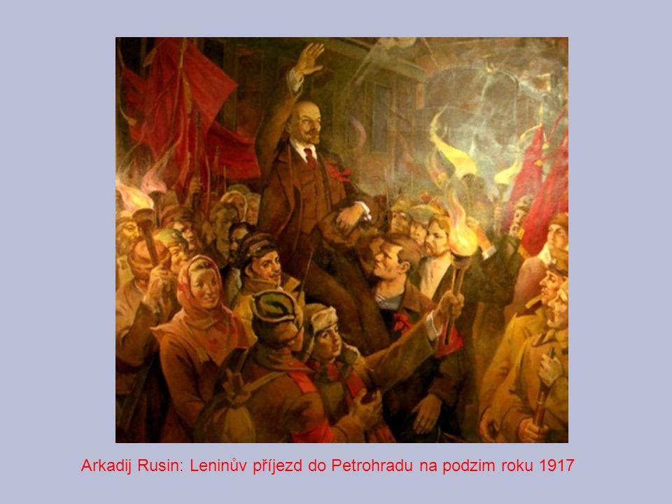 Arkadij Rusin: Leninův příjezd do Petrohradu na podzim roku 1917