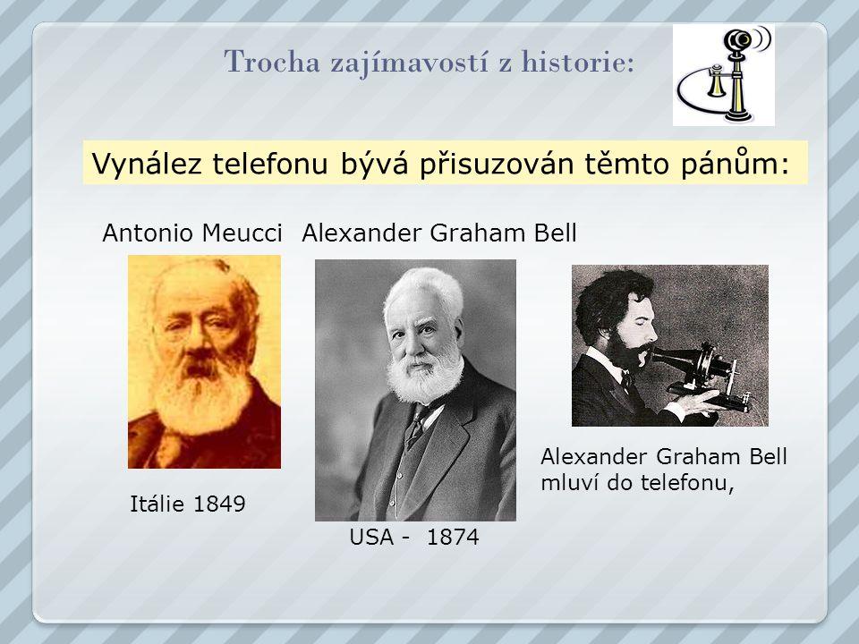 Trocha zajímavostí z historie: