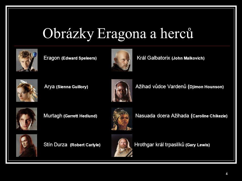 Obrázky Eragona a herců
