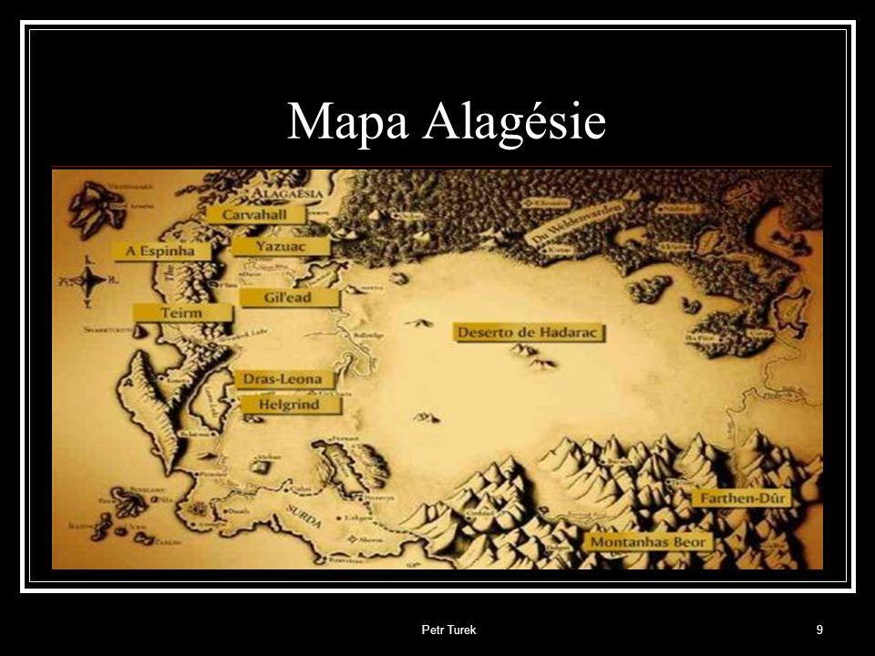 Mapa Alagésie Petr Turek