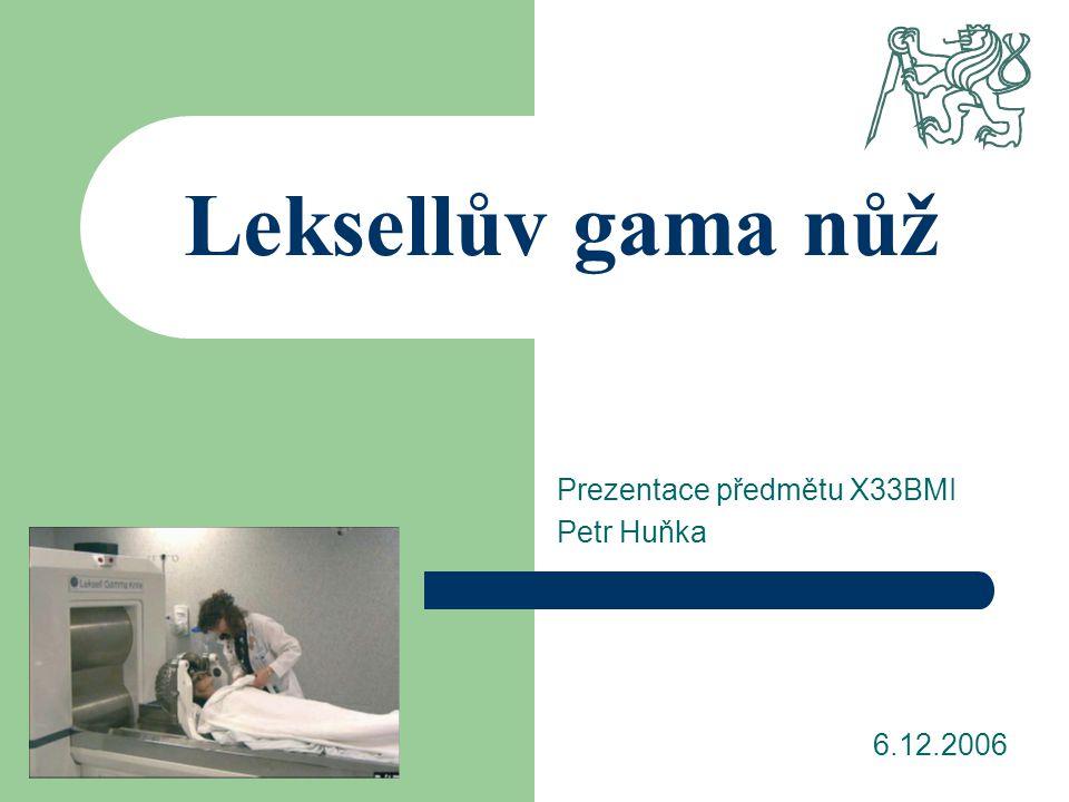 Prezentace předmětu X33BMI Petr Huňka