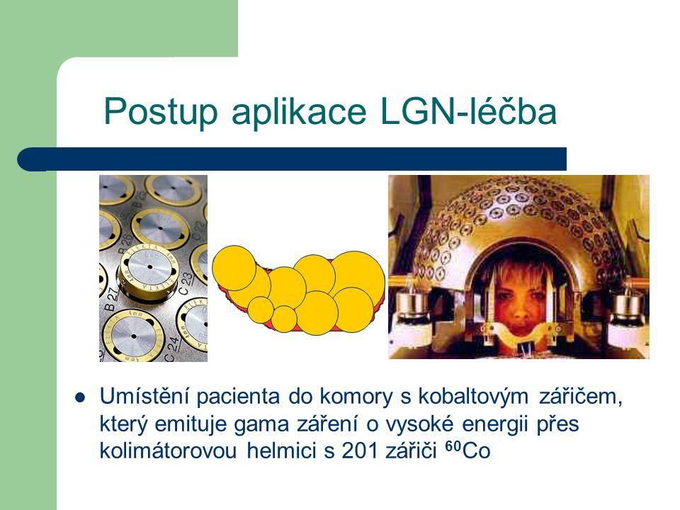 Postup aplikace LGN-léčba