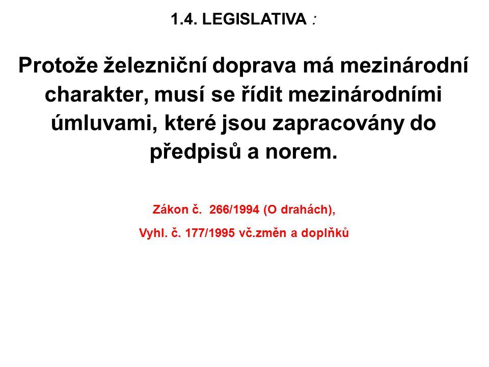 Vyhl. č. 177/1995 vč.změn a doplňků