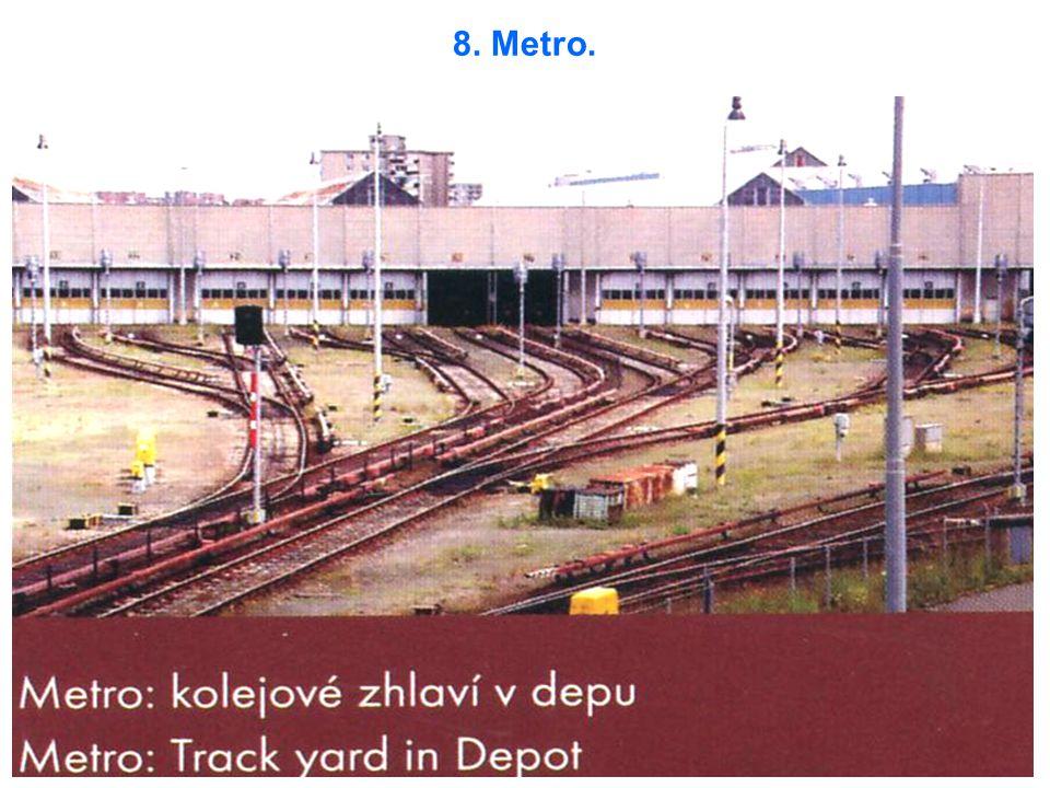 8. Metro.