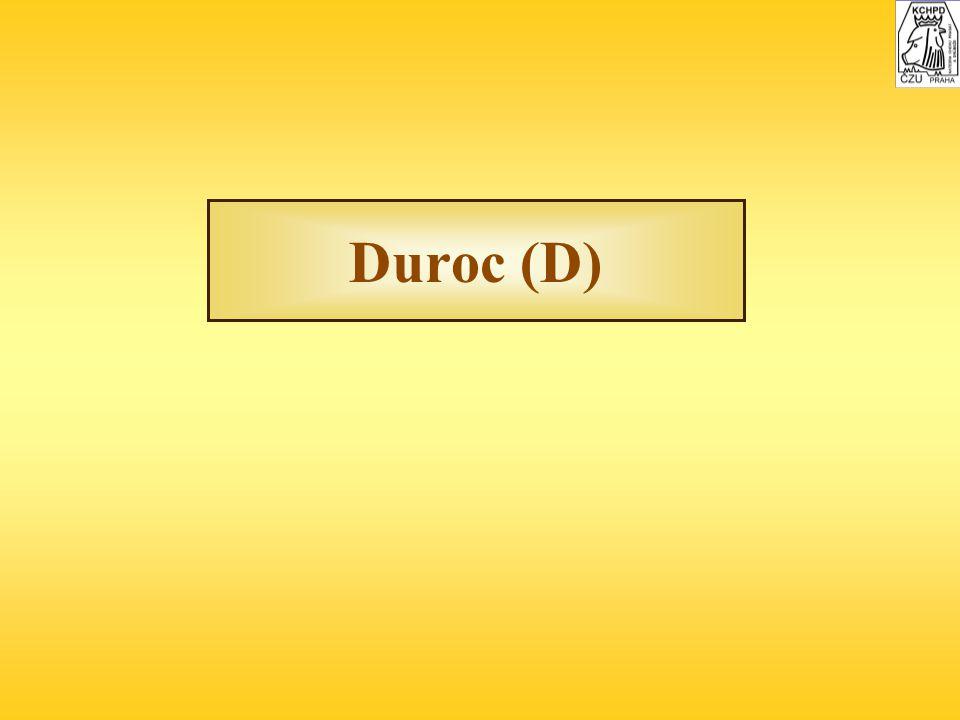 Duroc (D)